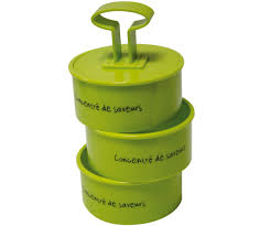 emporte pi鐵e cuisine emporte pièce cuisine forme ronde avec poussoir vert 1458