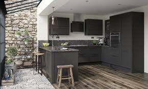 grey kitchen cupboards with black worktop grey is here to stay three new kitchen colours and how to