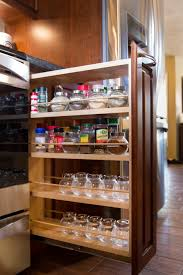 kitchen pull out cabinet kitchen pull out spice rack pan organizer rack kitchen