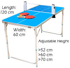 What Are The Dimensions Of A Ping Pong Table by Abroz Mini Table Tennis Ping Pong Table For Kids And Family