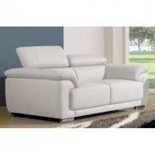 canapé cuir 2 places convertible confortable canapé convertible blanc canap cuir 2 places ikea