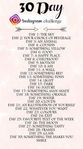 Challenge Instagram I Did The 30 Day Instagram Challenge In My Element