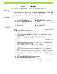 sample of a perfect resume manager resume objective examples