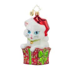 christopher radko ornaments 2016 radko cute as a kitten ornament
