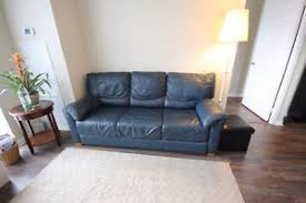 blue leather sofa kijiji in ontario buy sell u0026 save with