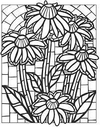 dover publications creative haven floral mosaics
