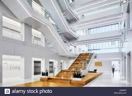 modern office lobby and atrium stock photo royalty free image