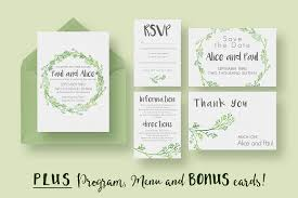 wedding invitation size hip wedding invitation suite invitation templates creative market