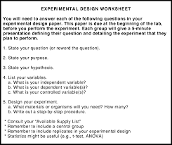 experimental design worksheet worksheets reviewrevitol free