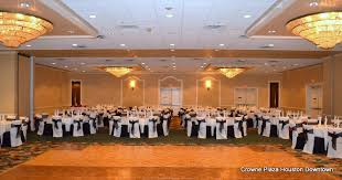 party venues houston bluebonnet ballroom at the crowne plaza houston downtown i do