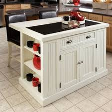 overstock kitchen islands home styles nantucket distressed white finish kitchen island