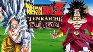 dragonball z tenkaichi tag team super saiyan 5 goku vs super