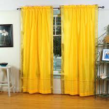 Yellow Window Curtains Curtains Yellow Room Decorate The House With Beautiful Curtains