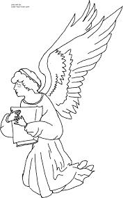 cartoons printable coloring angels children