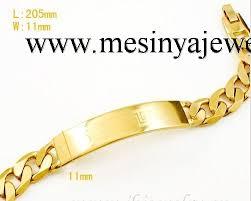 men gold tone bracelet images 18kgp gold plated 7mm 22cm men 39 s bracelet jpg