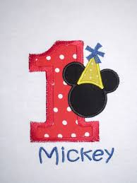 mickey mouse 1st birthday boy boys personalized mickey mouse number shirt or onesie mickey