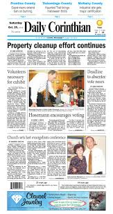 christ central lake city halloween 102916 daily corinthian e edition by daily corinthian issuu