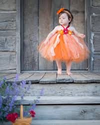 fall flower dress tutu dress for toddler size 6 month 3t