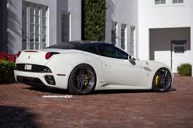 Ferrari California In White - ferrari california adv05s mv2 cs wheels adv 1 wheels