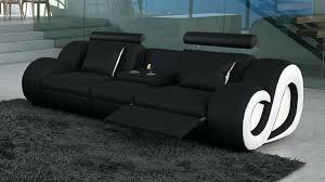 canap relax simili cuir canape relax cuir 3 places canapac 2 manuel bar central gaspard noir
