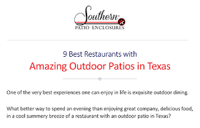 Patio Enclosures Nashville Tn by Southern Patio Enclosures Restaurant Wind Screens