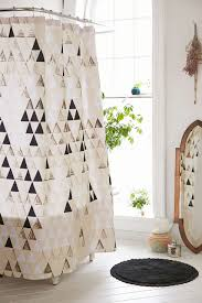 Dorm Bathroom Ideas by Pattern State For Deny Triangle Standard Shower Curtain