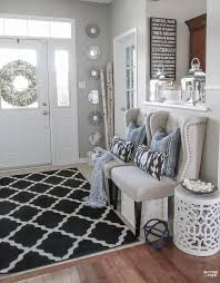 decorating with indigo blue black and gray shades of summer