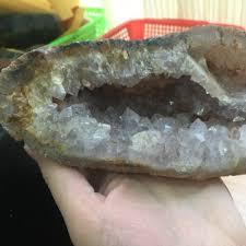 bg1013 1 3kg natural amethyst agate geode specimen quartz crystal