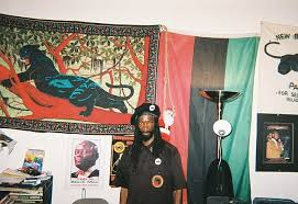 leader of the black panthers who sports a tattoo reading u0027kill
