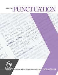 jensen u0027s punctuation