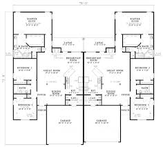 Duplex Floor Plans 3 Bedroom by Mediterranean Style House Plan 3 Beds 2 00 Baths 3500 Sq Ft Plan
