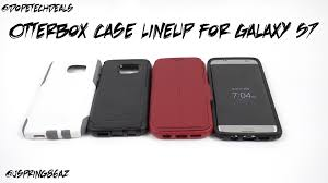 black friday 2016 amazon samsung galaxy s7 samsung galaxy s7 and s7 edge case lineup from otterbox youtube