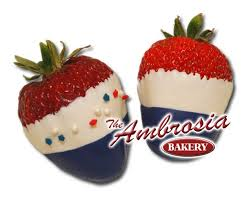Red White And Blue Chocolate White And Blue Chocolate Dipped Strawberry U0027s