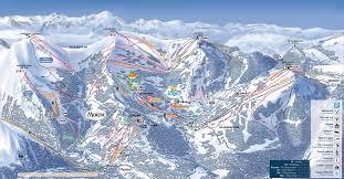 Geneva Map Les Gets Ski Resort Portes Du Soleil Ski Area
