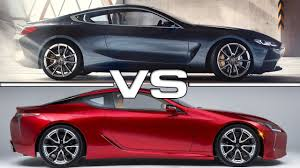 lexus lc interior 2018 bmw 8 series vs 2018 lexus lc 500 luxury coupe interior