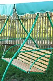 Replacing Fabric On Patio Chairs Fabulous Idea Refurbish Old Patio Swing Chair Into New Wooden One