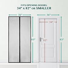 amazon com magnetic screen door bearmoo updated sticky design
