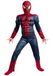 Light Up Costumes Spider Man Light Up Costume Review From Halloweencostumes Com I