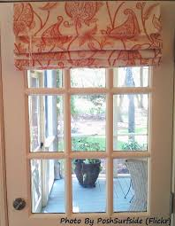Window Covering For French Patio Door Attractive Roman Shades For French Patio Doors 25 Best Ideas About