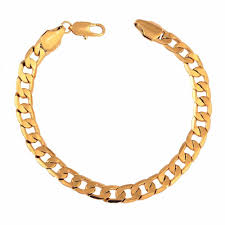 classic gold bracelet images Classic charm chain 18k gold bracelet luxury jewelry gift for lady jpg