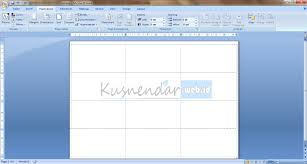 cara membuat surat undangan di ms word tutorial membuat template label undangan di word 2007 kusnendar