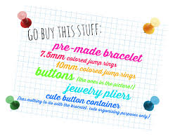 raising up rubies blog rainbow button bracelet