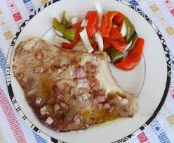 cuisiner la raie au four aile de raie à l échalote recette de aile de raie à l échalote