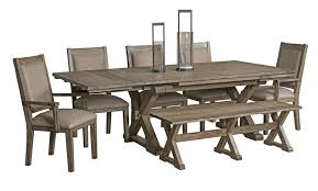 kincaid furniture foundry 5 piece table u0026 chair set with leaves