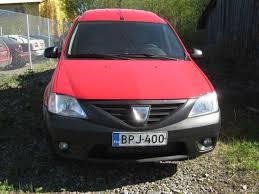 dacia logan van 1 5 dci 85hv 5mt ambiance mpv 2012 used vehicle
