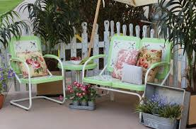 Shabby Chic Patio Furniture by Vintage Metal Patio Furniture Ideas All Home Decorations