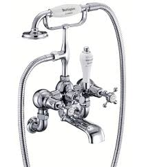 claremont wall mounted bath shower mixer tap cl17 burlington claremont wall mounted bath shower mixer tap