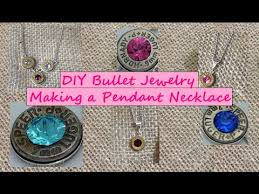 shell necklace making images Diy making a bullet jewelry pendant necklace jpg