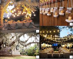 night garden wedding pretty the table gallery and outside lights