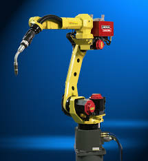 fanuc robotics demonstrates new arc mate 100ic intelligent welding